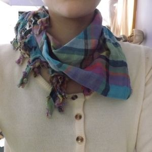 Other - Plaid Scarf